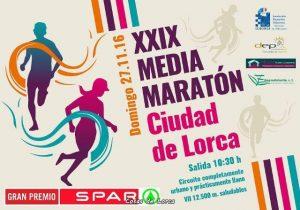Media maratón ciudad de Lorca