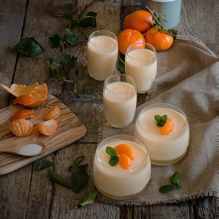 Mousse de mandarinas