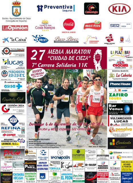 Media maratón de Cieza