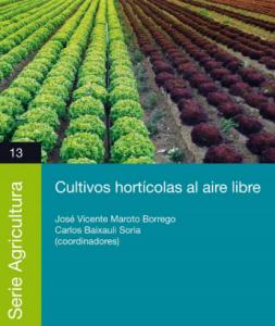 Libro Cultivos hortícolas al aire libre de CAJAMAR