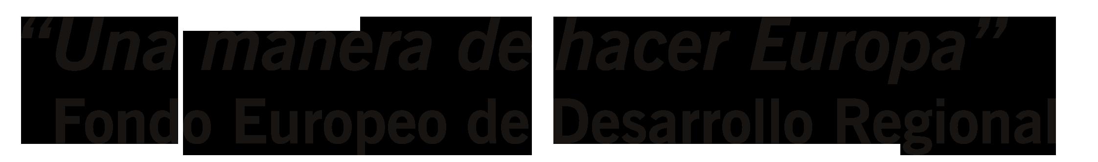 Logo Una manera de hacer Europa