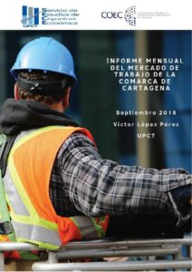 Informe mercado de trabajo de la Comarca de Cartagena - Septiembre 2018
