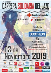 INFORME - 2019-11-03 - Carrera del lazo - TRACK AND FIELD SPORT TEAM - CRUZ ROJA - CARTEL